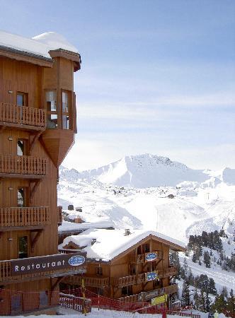 Macot-la-Plagne, Francia: hotel sur les pistes