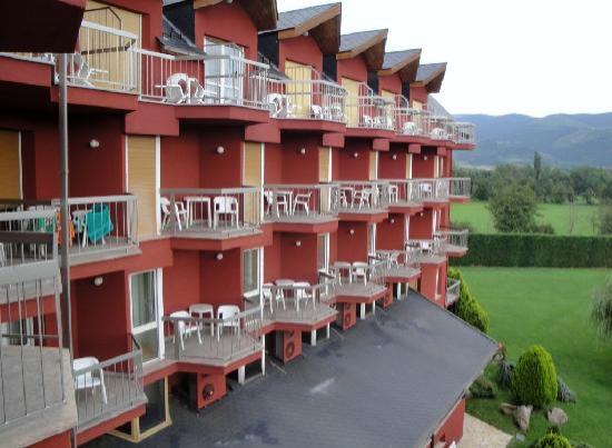 Park Hotel Puigcerda: Room balconies