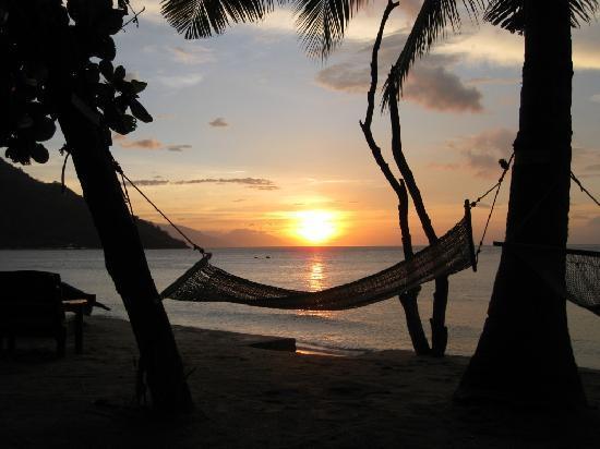 Sunset at Aninuan Beach Resort: sunset 3
