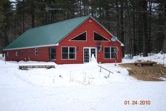 "Adirondack Sports Center : Outside of ""Gramp's Cabin"""