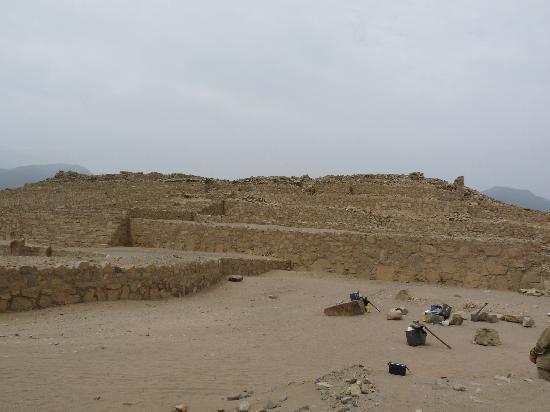 Caral: Piramide Mayor