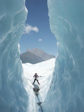 McCarthy, AK: Hiking on the Root Glacier