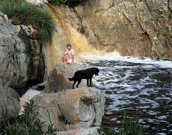 Franverleigh Lodge : Hiking trails and mountain biking down to the Karatara River