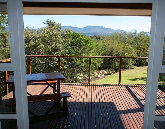 Franverleigh Lodge : Wonderful views from the decks
