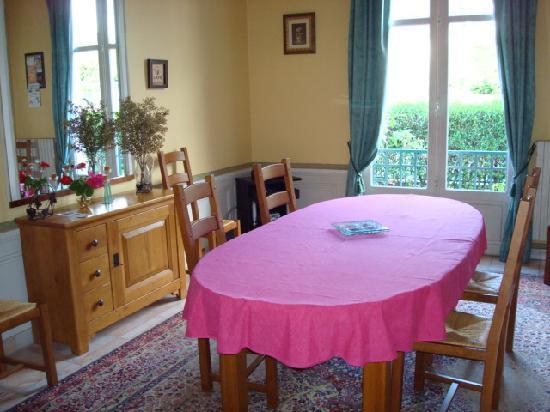 Le Lamartine : salle à manger