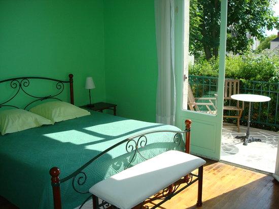 Le Lamartine : Chambre terrasse