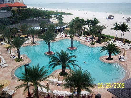 JW Marriott Marco Island: View from our room.