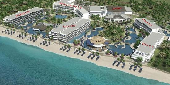 Azul Sensatori Layout Picture Of Azul Beach Resort Sensatori Mexico Puerto Morelos Tripadvisor
