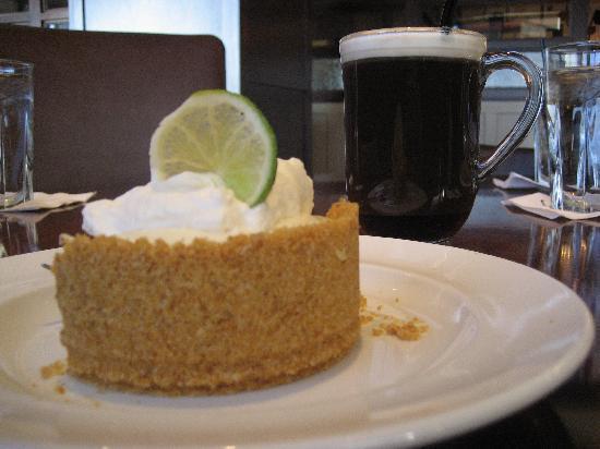 Burtons Grill: Their famous Key Lime Pie & Irish Coffee.