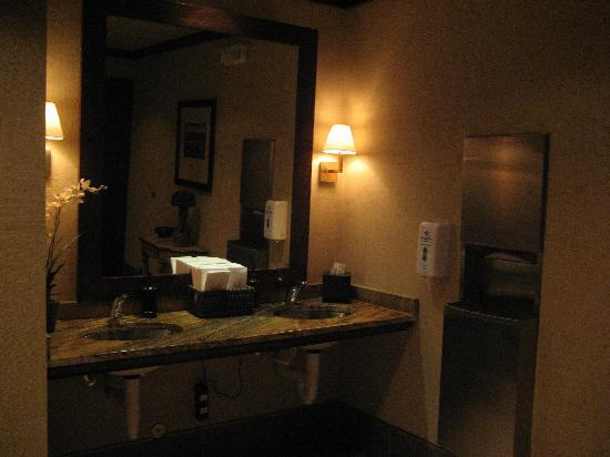 Burtons Grill: The true test: The Restroom.