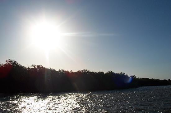 Lake St Lucia Lodge: sunrise