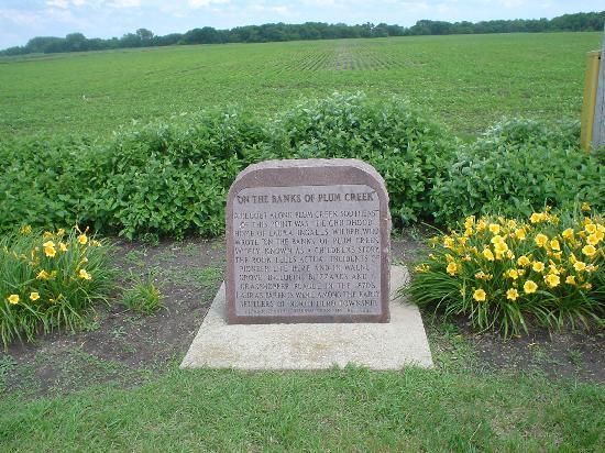 Laura Ingalls Wilder Museum: On the banks of plum creek