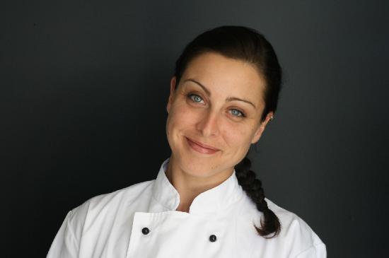 Tiritiri Lodge: our wonderful chef Tiffany