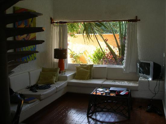 Villas Las Anclas: Nice Living Area