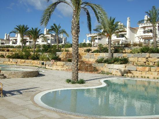 Almancil, Portugal: Pool area