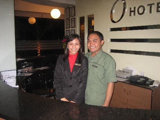O Hotel: April and Ronald