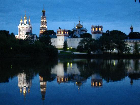 Couvent et cimetière de Novodievitchi : Novodevichy Convent