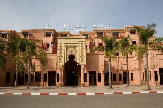 Mansour Eddahbi - Palais des Congres: Fachada Principal