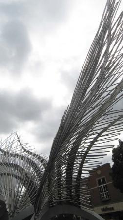 Sculpture at Angel/Islington N1 Mall