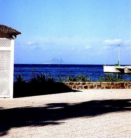 El Peñon de Gibraltar... vista desde Ceuta - Africa