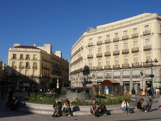 Estacion sol renfe cercanias plaza sol picture of for Plaza puerta del sol