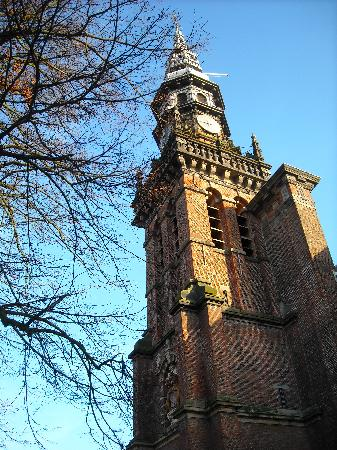A Beautiful old church in Haarlem...