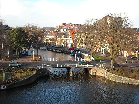 "Haarlem, Belanda: View from the mill ""De Adriaan"""