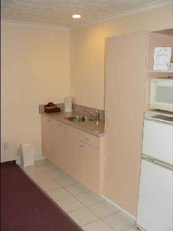 White Heron Motor Lodge: Küche