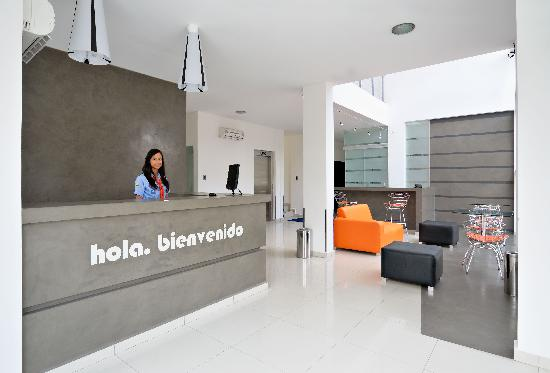 Hotel LP Santa Cruz Centro : Lobby