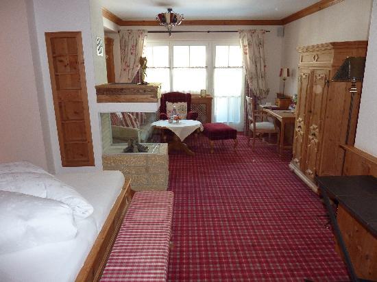 Hotel Alpin Spa Tuxerhof: Garten-Suite
