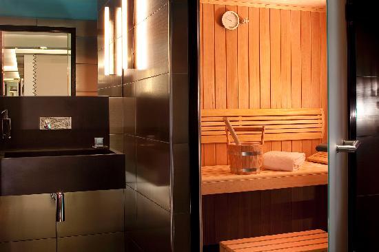 Hôtel Les Jardins de la Villa & Spa : Hammam et Sauna