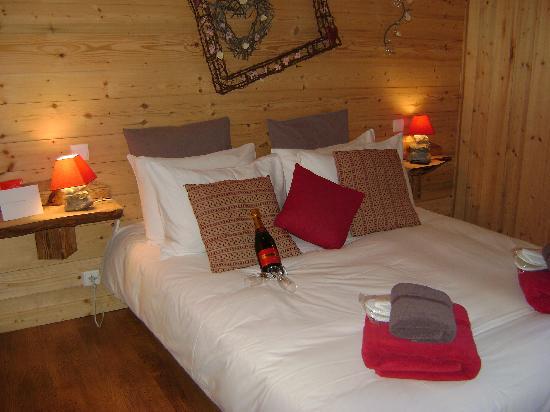 Mountain Mavericks Chalet Le Prele: Our room