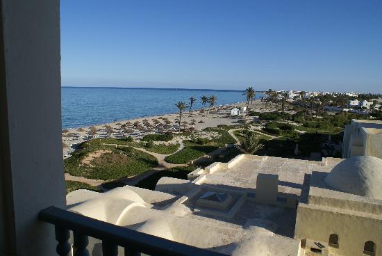 Radisson Blu Ulysse Resort & Thalasso Djerba: Blick aus unserem Zimmer