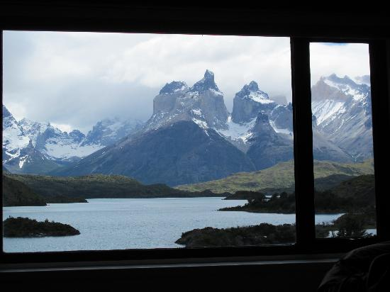 Explora Patagonia - All Inclusive : View from our bedroom at Explora