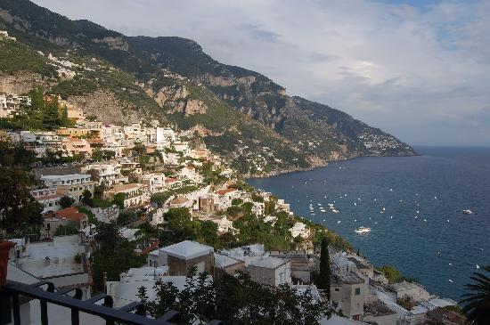Hotel Conca d'Oro Positano: Our view
