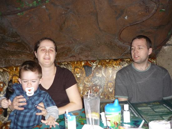 Rainforest Cafe: Entertaining my family from Newfoundland