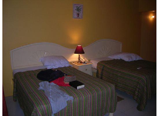 سان سيت أون ذا بيتش ريزورت: Our room