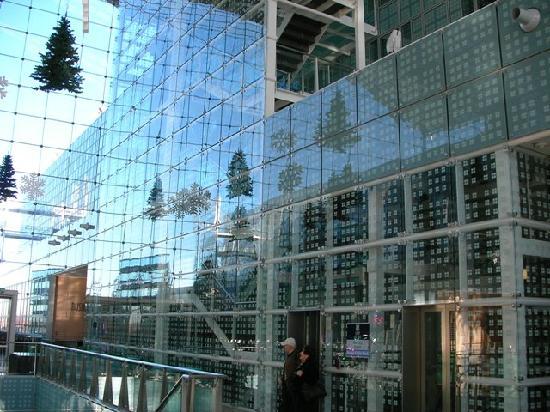 Hilton Munich Airport: glass hall