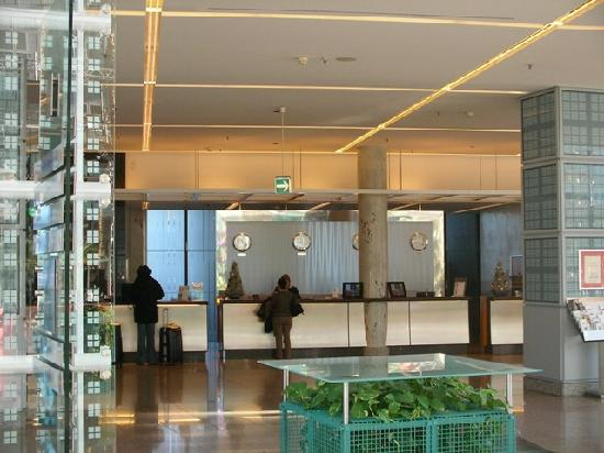 Hilton Munich Airport: reception