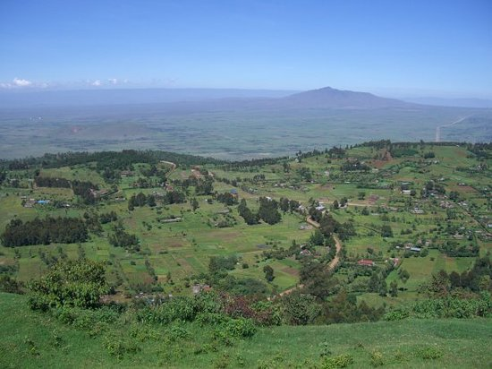 Kitale, Kenia: rift valley