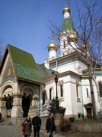 圣尼古拉斯俄罗斯教堂 (Tsurkva Sveta Nikolai)