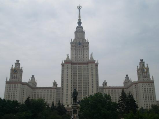 Lomonosov Moscow State University (MGU): Universidad Lomonosov, Moscú