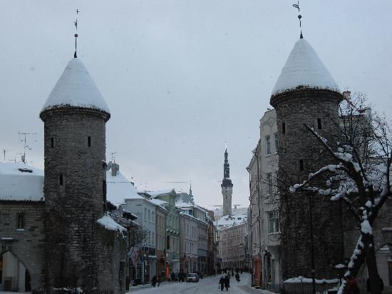Swissotel Tallinn: Old Town gate