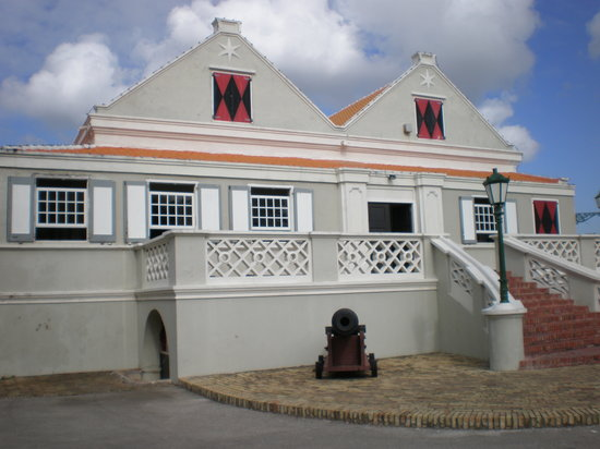 Entrance to Curacao Museum
