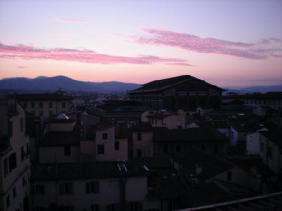 Hotel BellaVista: the view out my window of the sunrise