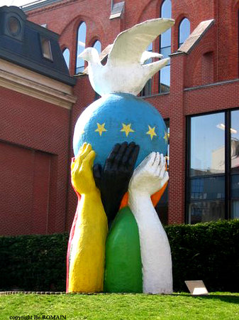 Statue of Europe Unity in Peace