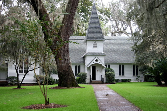 Christ Church: Christ Episcopal Church - St Simons Island