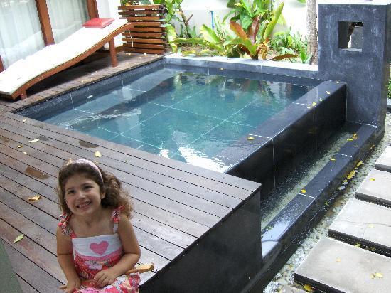 Zara Beach Resort: our villa pool