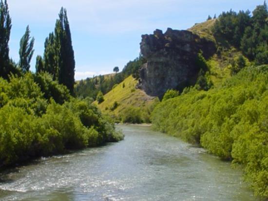 Coyhaique, Χιλή: y una de las otras postales clasicas, la Piedra del Indio