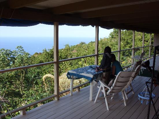 A Beautiful Edge of the World B&B: Auf der Lanai